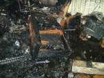 Неизвестные убили мужчину на юге Москвы и сожгли его квартиру