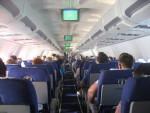 Авиапассажир, которому захотелось курить, обмочился прямо в салоне
