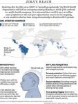 В Канаде подтверждено три случая заболевания от вируса Зика