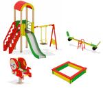 Стеклопластиковые изделия для детских площадок