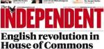 Сегодня выйдет последний печатный тираж британской газеты Independent