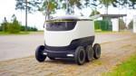Беспилотный робот – будущее доставки?