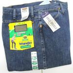 Wrangler презентовал «спортивные джинсы»