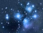 Российские астрономы сделали снимок галактики с голубыми звёздами