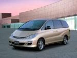 Новая модель Toyota Estima «засветилась» в Тайване