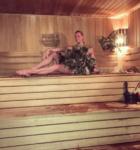 Новые банные фото Анастасии Волочковой