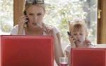 Учёные не рекомендуют молодым мамам «зависать» в соцсетях
