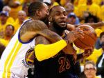 «Кливленд» переиграл «Голден Стэйт» в финальном матче НБА