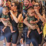 Ким Кардашьян и её 7-месячный сын на шопинге в Сан-Диего