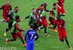 Трогательный момент после финала Евро-2016