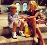 Юлия Высоцкая показала своего сына: «Мой маленький взрослый мужчина»
