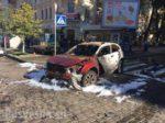 В сети появилось видео момента взрыва машины Павла Шеремета