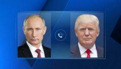 Время телефонного разговора Путина и Трампа стало известно
