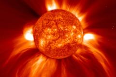 Вспышки на Солнце как двигатель прогресса