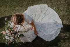 В Шотландии нашли пропавшее в химчистке 150-летнее свадебное платье