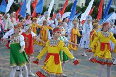 Состоялся праздник Дня России с торжественными почестями