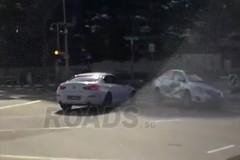 Автомобиль-призрак вызвал ДТП в Сингапуре