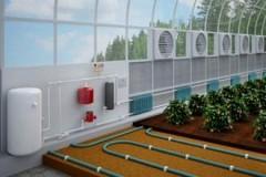 Особенности отопительных систем для теплиц