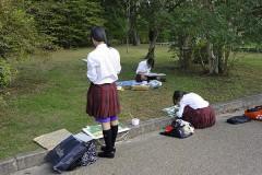 Японские извращенцы планировали приставать к едущим на экзамен школьницам