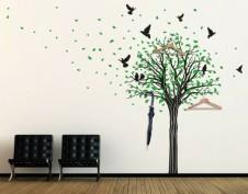 Интерьерные наклейки на стену
