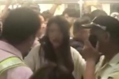 Скандалистка парализовала работу китайского метро в час пик
