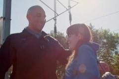 Пытавшаяся убить себя женщина встретила своего спасителя