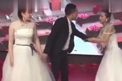 Бывшая девушка китайца явилась на свадьбу в белом платье и устроила скандал