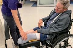 Мужчина отрезал себе ногу складным ножом ради выживания