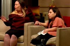 Удочеренную американцами «взрослую» карлицу с Украины показали по ТВ