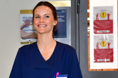 Шведская принцесса стала работать в больнице из-за коронавируса