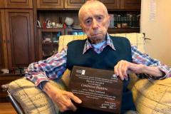 Самый старый мужчина в мире раскрыл секрет долголетия