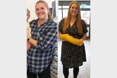 Женщина сбросила 22 килограмма и раскрыла способ похудения
