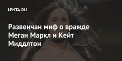 Развенчан миф о вражде Меган Маркл и Кейт Миддлтон