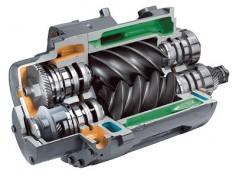 Что такое винтовой компрессор и какими свойствами он обладает?