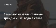 Сексолог назвала главные тренды 2020 года в сексе
